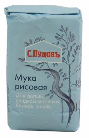 Мука рисовая 500 гр. С.Пудовъ