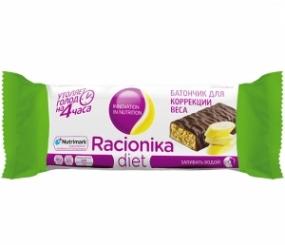 Рационика Диет батончик для коррекции веса банан 60 гр
