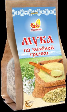 Мука из зелёной гречки (шелковица) 300 гр.