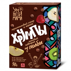 Хрумпы с какао Умная мама 140 гр.