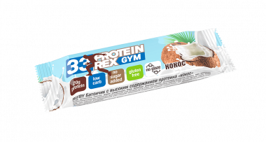 Протеиновый батончик «ProteinRex» LOW CARB (33%) Кокос 60 гр