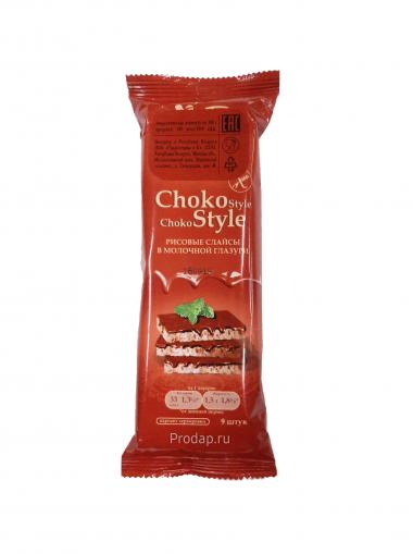 """Рисовые слайсы в молочной глазури """"Choko Style"""", 68 г"""
