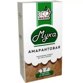 Мука амарантовая 300 гр.