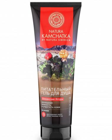 Natura Kamchatka Гель для душа Питательный «ШАМАНСКИЕ ЯГОДЫ» нежность и упругость кожи, 250 мл