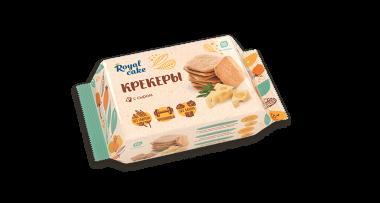 Крекер с высоким содержанием протеина «Royal Cake» «Сырный» (без глютена), 84 г
