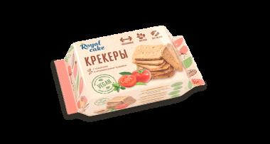 Крекер с высоким содержанием протеина «Royal Cake»«с томатами и итальянскими травами»(VEGAN), 84 г