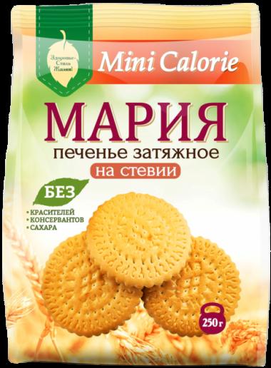 Печенье затяжное Мария Премиум на стевиозиде, 240 г