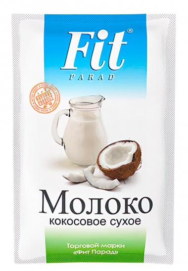 Молоко кокосовое сухое Fit Parad, 35 г