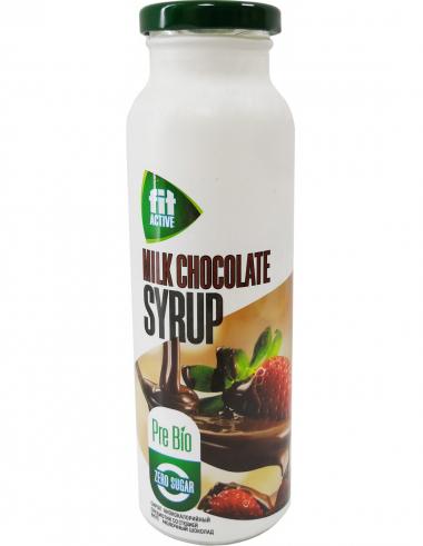 """Сироп низкокалорийный пребиотик со стевией вкус """"Молочный шоколад"""", 300 г"""