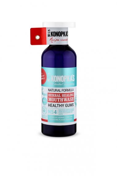 Натуральный травяной ополаскиватель для полости рта Natural herbal healing mouthwash, 500 мл