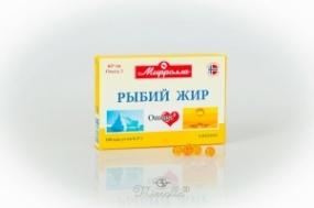 Рыбий жир пищевой №100 капс.