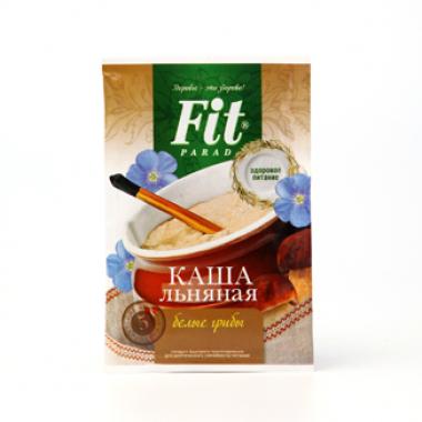 Пакет-саше Каша льняная быстрого приготовления «ФитПарад» «Белые грибы со сливочным сыром»
