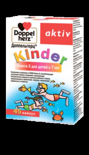 Доппельгерц® Kinder Омега-3 капс. №30