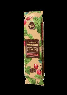 Стевилад с вишней(темный шоколад) 100 гр