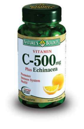 Витамин С 500 мг плюс Шиповник табл. №100