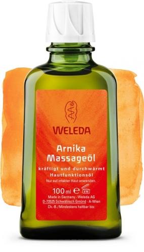 Массажное масло Weleda с арникой, 100 мл