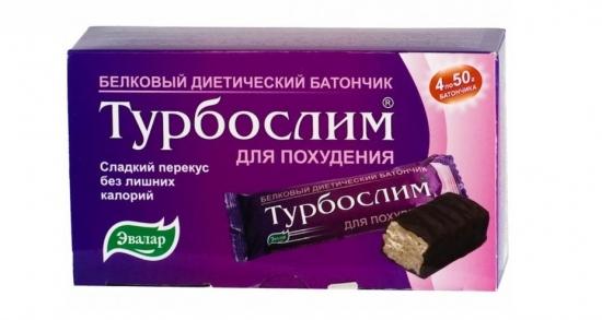 Турбослим Батончик для похудения 50 гр. № 4 шт.